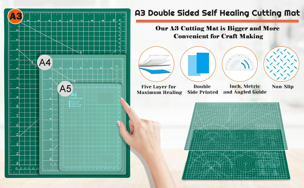 12x18 Inch Self Healing Sewing Mat