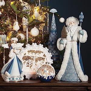 Christmas Santa Blue