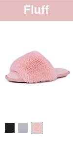 longbay women fluffy slipper