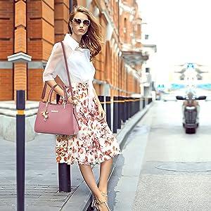 handbag for women pink