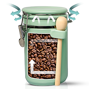 Cute airtight kitchen containers for organizing farmhouse canisters sets for the kitchen