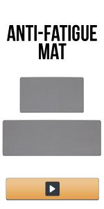 Anti Fatigue Kitchen Rug Set 2 Piece Thick Cushioned Kitchen Floor Mats Comfort Standing Mat