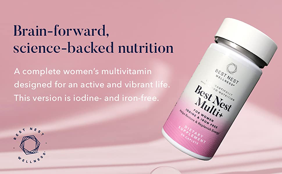 A complete women's multivitamin designed for an active and vibrant life.