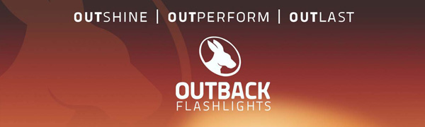 Outback Orange Safety Cone for Big Stick Flashlight