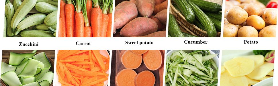 food veggie vegetable spiralizer