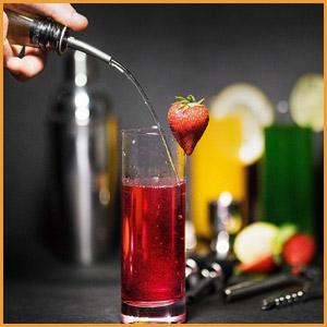 12Pcs Cocktail Shaker Set Bartender Kit Bar Tool Set