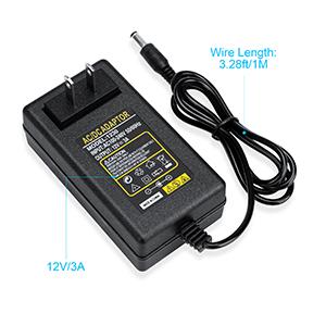 12V/3A Power supply