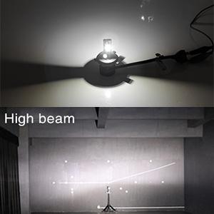 H7 LED headlight bulb