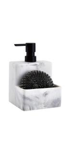ZCCZ Soap Dispenser with Sponge Holder