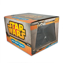 Darth Vader 2 Slice Toaster packaging