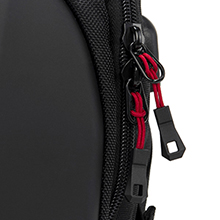 17 outdoor gaming laptop backpack for men 15.6 17 17.3 Inch gaming motorcycle travel backpack black