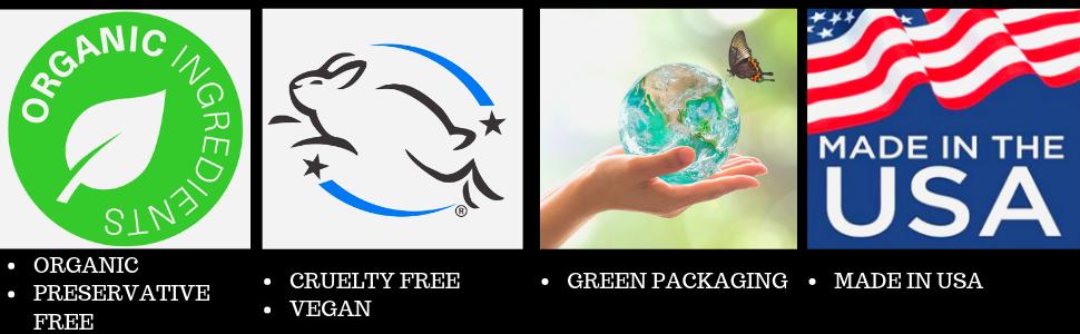 Skin2spirit organic natural cruelty free gluten free sensitive eyes mascara paraben free