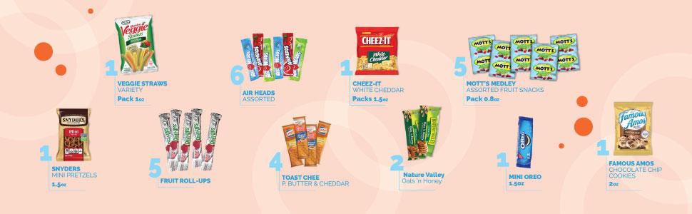 Variety Snack Pack