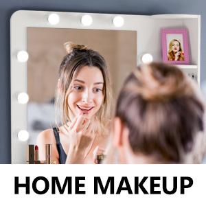 Home makeup