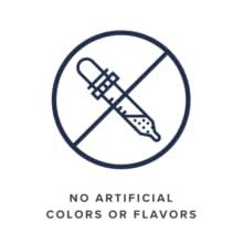 No Artificial colors or flavors