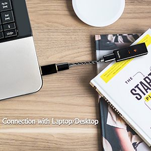 Connection with Laptop / Desktop