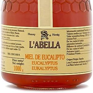 Labella Mel – Miel de Eucalipto – Miel natural recolectada en España (1kg)
