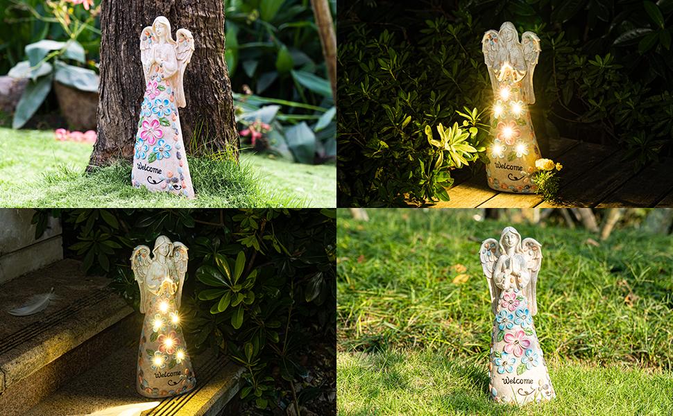 garden angel figurines