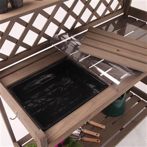 garden working table