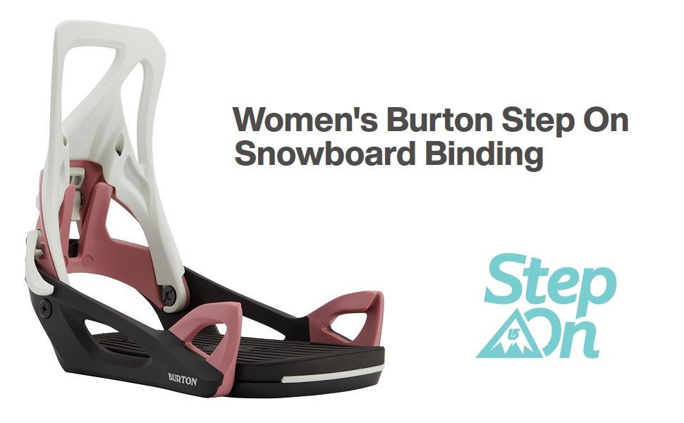 Burton Step On Snowboard Bindings Womens