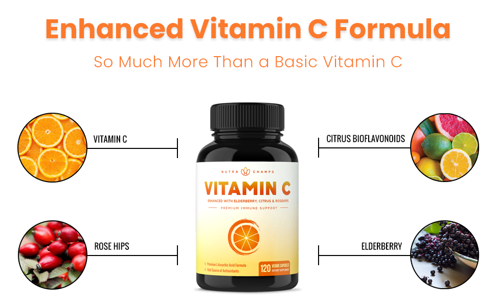 vitamin c with rose hips and citrus