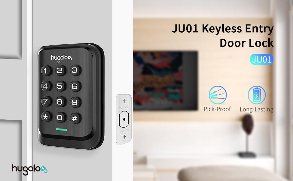 hugolog keypad door lock