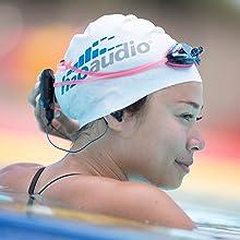 waterproof headset for swimmers
