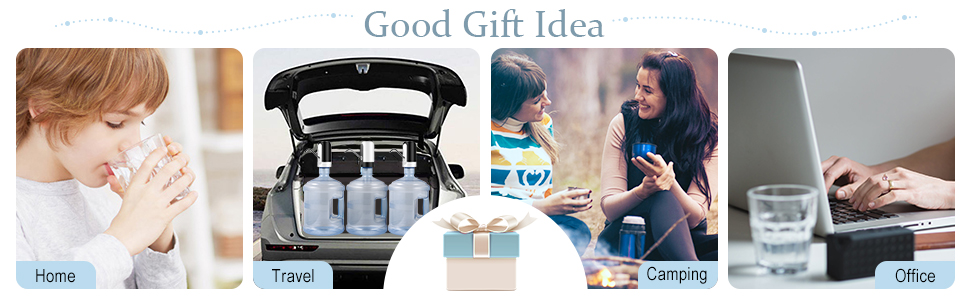 portable water pump dispenser