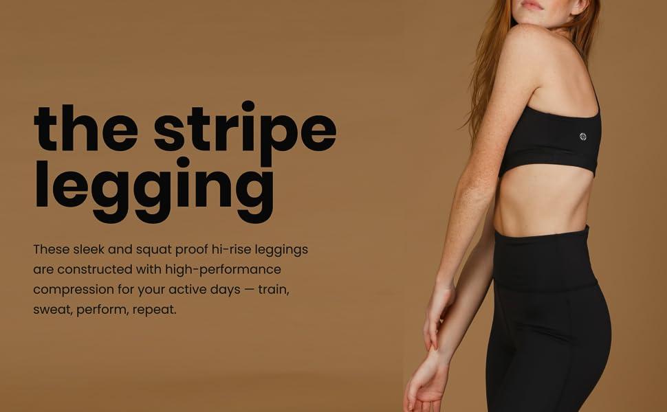 leggings yoga pants women pocket high rise waist waistband hold soft athletic compression quality