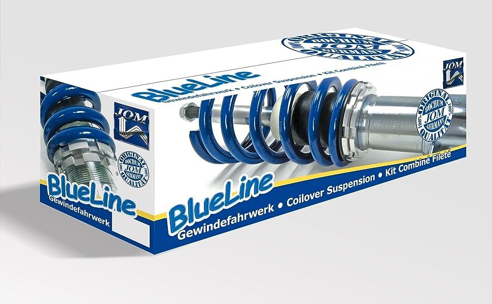JOM 741073 Gewindefahrwerk, blau