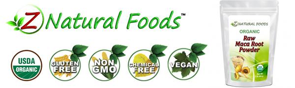 z natural foods powdered maca root