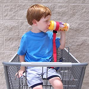 SippyPal baby bottle sippy cup leash tether