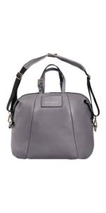 Olympia Vegan Leather Diaper Bag
