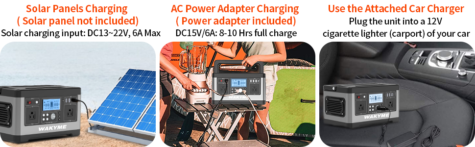 3 Charging methods