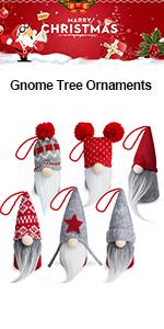 Gnome Christmas Plush Ornaments