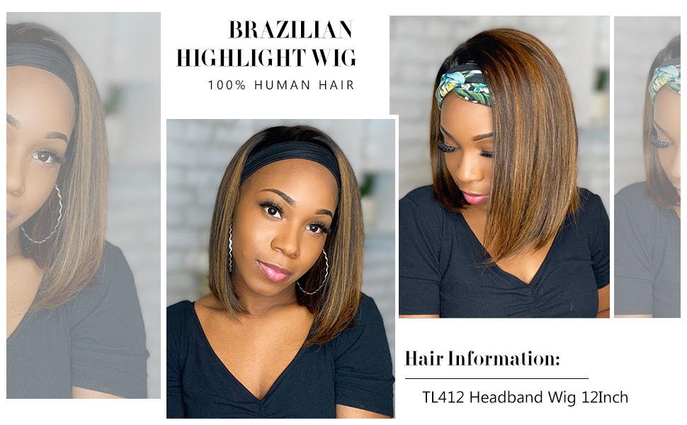 Honey Blonde Wigs 1BTL412 Color