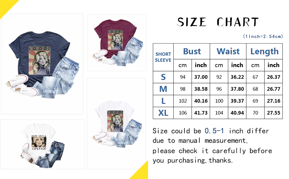 country shirts for women cute graphic tees