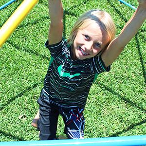 kids space dome climber