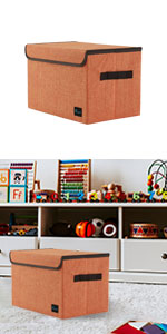 Small Storage Basket Bins for Toy Organizer,Collapsible Laundry Basket