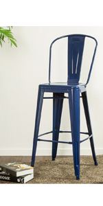Bars tool chairs counter chairs metal