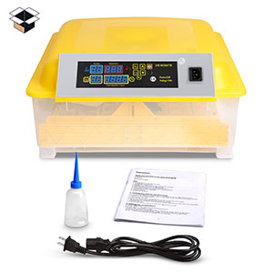 Clear Egg Incubator, Fully Automatic Digital Poultry Hatching Machine