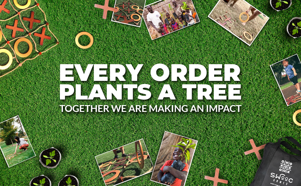 Every Order Plants A Tree. Together We are Making and Impact