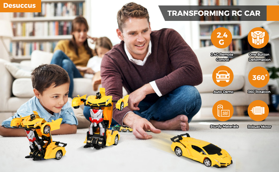 remote control robot car toy for kids