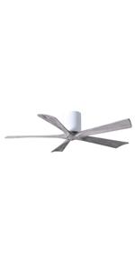 white ceiling fan, modern farmhouse