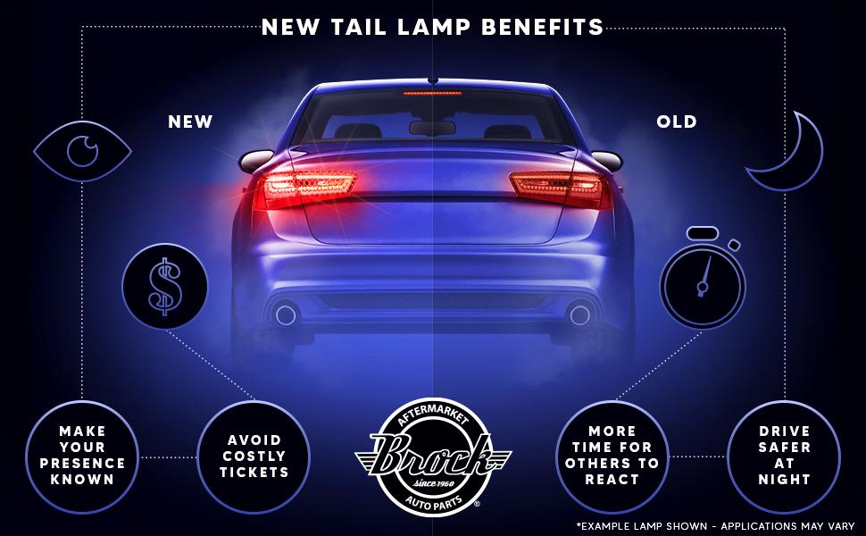 taillight taillights tail light tail lights tiallamp taillamps tail lamp tail lamps
