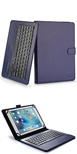 """Cooper Infinite Executive leather keyboard case for 9-10"""" tablets"""