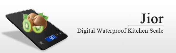 Waterproof Digital Kitchen Scales