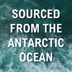 sourced from the anarctic ocean