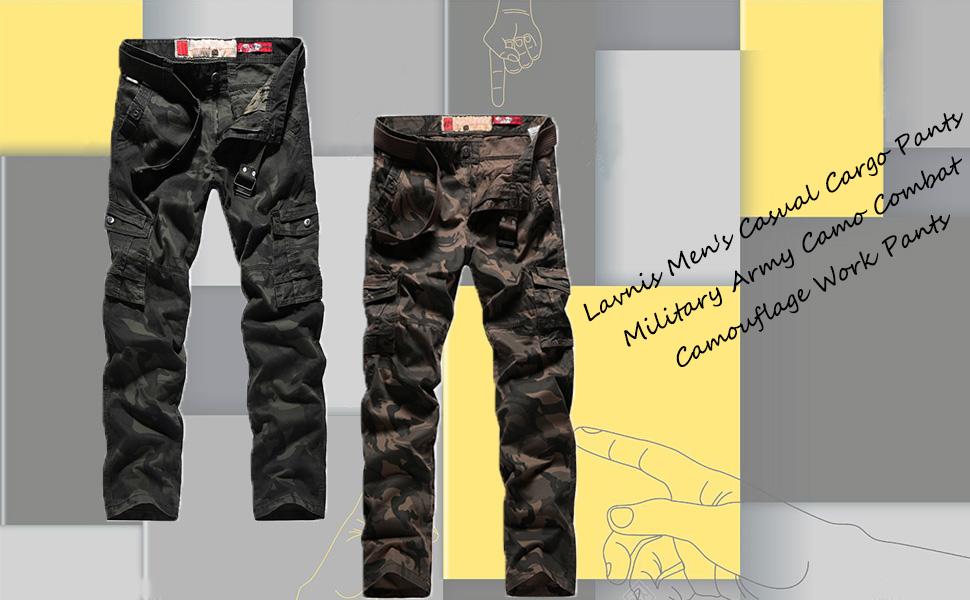 Amazon Com Pantalones De Trabajo De Camuflaje Para Hombre Estilo Militar Estilo Militar Camuflaje Clothing
