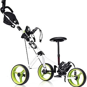 golf push cart